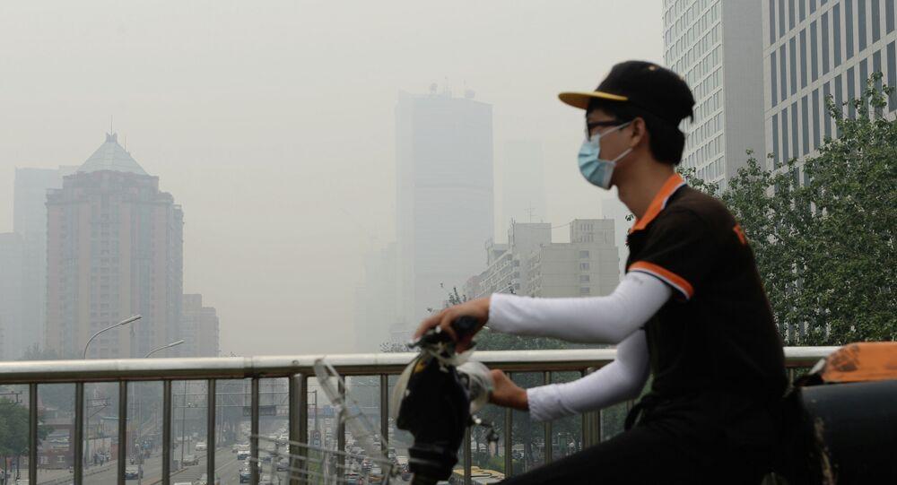 Smog en Pekín (imagen referencial)