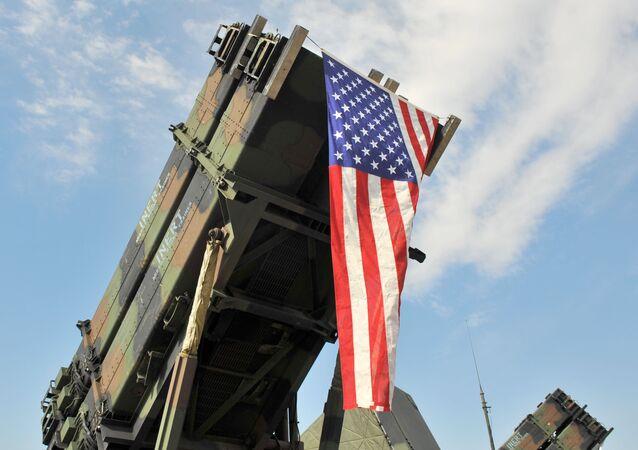 Sistema de misiles estadounidense Patriot (imagen referencial)