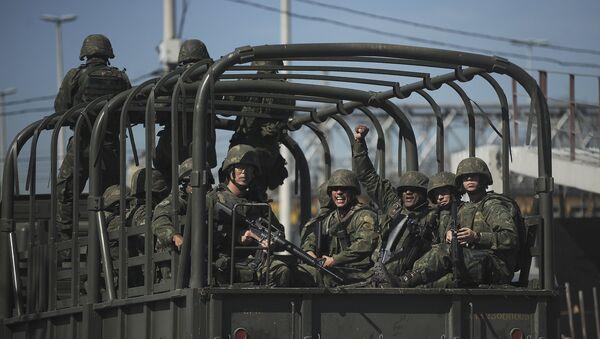 Soldados del Ejército de Brasil - Sputnik Mundo