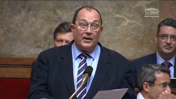 El diputado de la Asamblea Nacional, Jérôme Lambert - Sputnik Mundo