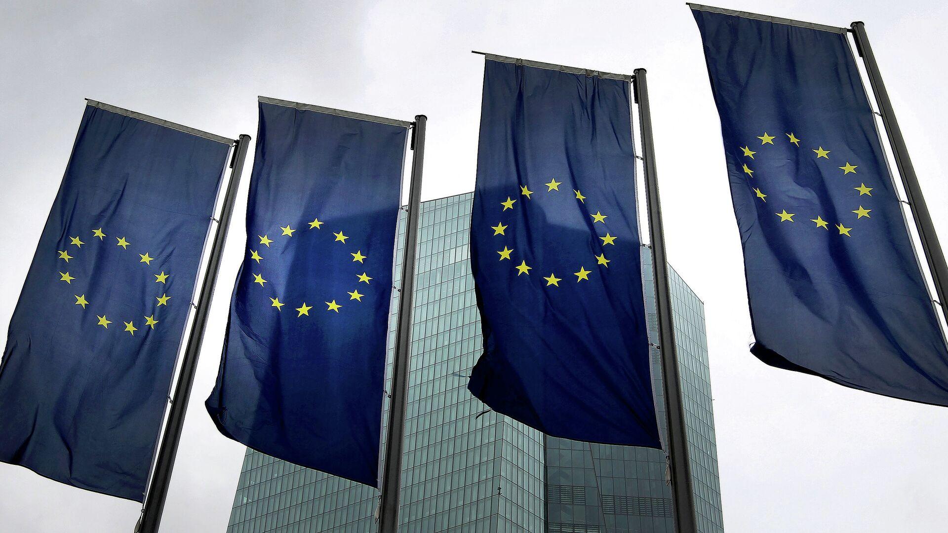 Banderas de la Unión Europea - Sputnik Mundo, 1920, 29.04.2021