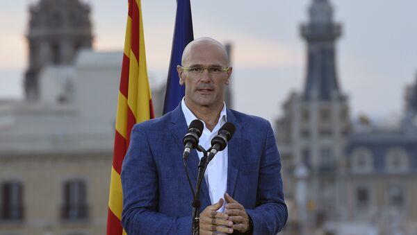 Raül Romeva, consejero de Asuntos Exteriores del Gobierno catalán (archivo) - Sputnik Mundo