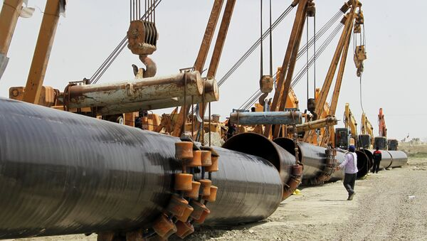 Construcción de gasoducto iraní - Sputnik Mundo