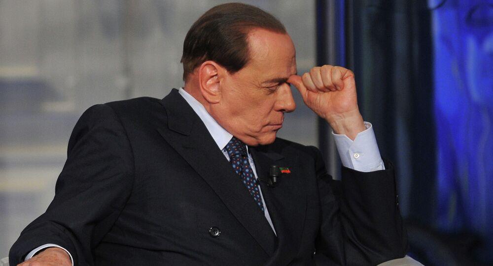 Ex primer ministro de Italia, Silvio Berlusconi (archivo)