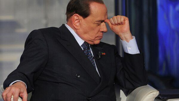 Ex primer ministro de Italia, Silvio Berlusconi - Sputnik Mundo