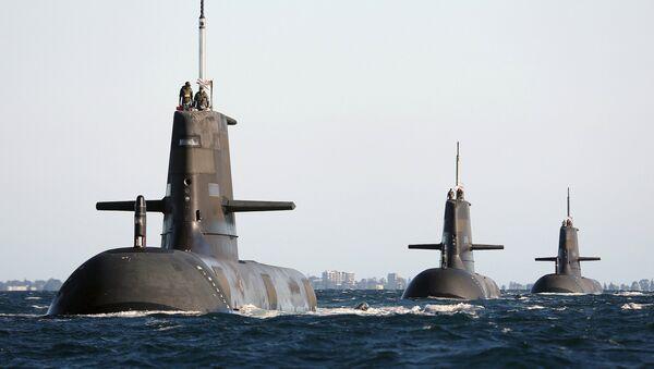 Los submarinos de la Armada de Australia - Sputnik Mundo