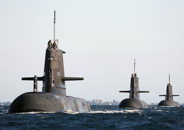 Los submarinos de la Armada de Australia