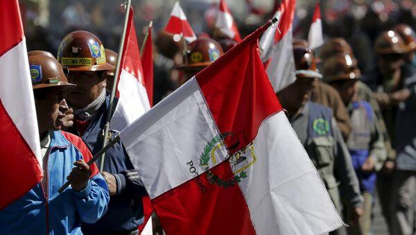Manifestación en Potosí, al sur Bolivia - Sputnik Mundo