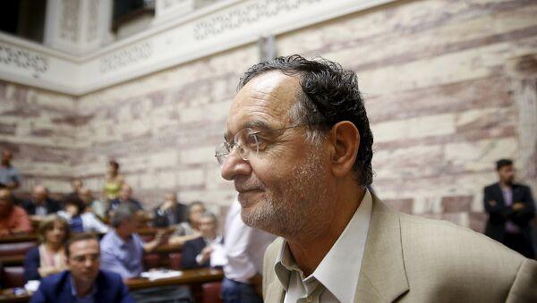 Panagiotis Lafazanis, exministro de Energía de Grecia - Sputnik Mundo