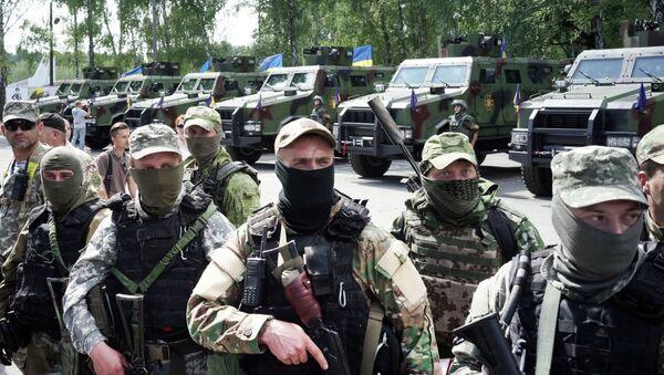 Soldados ucranianos (archivo) - Sputnik Mundo