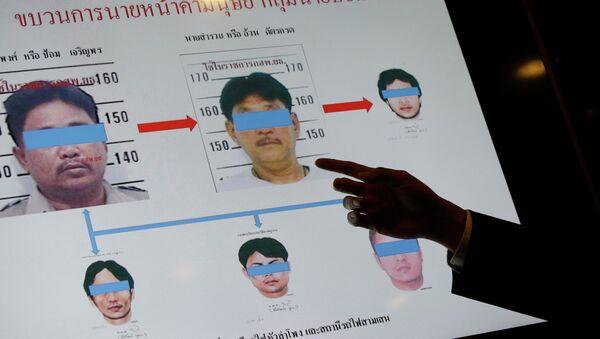 Sospechosos de la trata de personas en Tailandia, el 1 de julio, 2015 - Sputnik Mundo