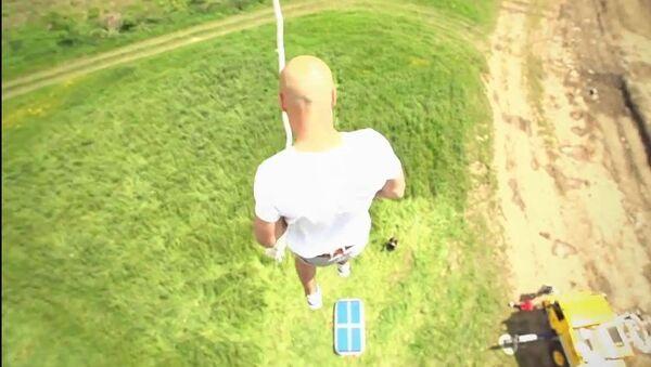El escalofriante salto de Damien Walters - Sputnik Mundo