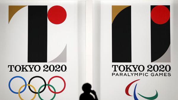 Logos de los Juegos Olímpicos y Paralímpicos de Tokio 2020 - Sputnik Mundo