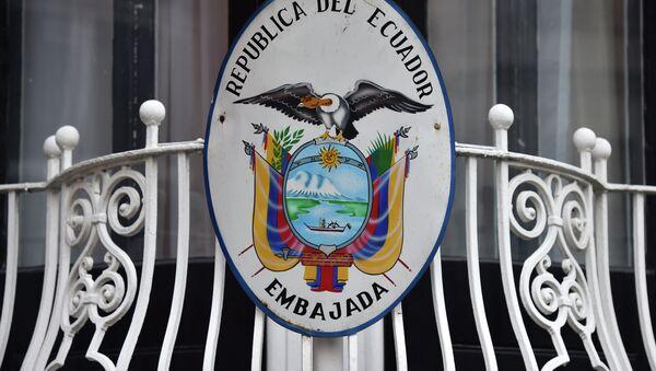 Embajada de Ecuador en Gran Bretaña - Sputnik Mundo