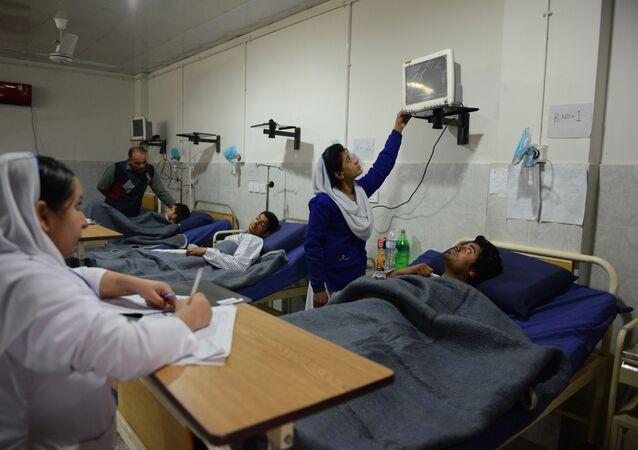 Un hospital en Pakistán (archivo)