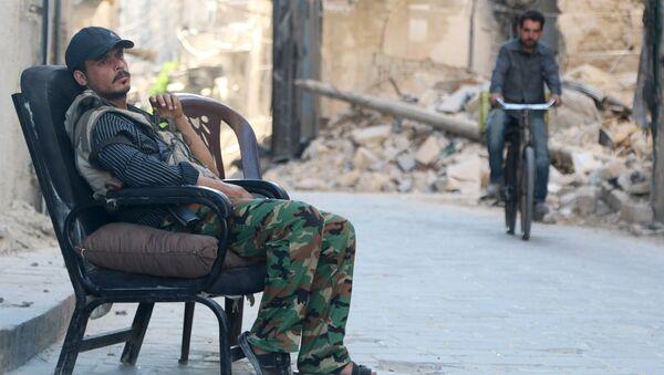 Soldado del Ejército sirio libre - Sputnik Mundo