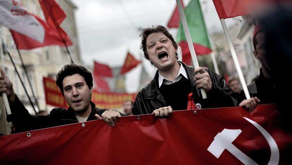Marcha anticapitalista en Rusia (archivo) - Sputnik Mundo