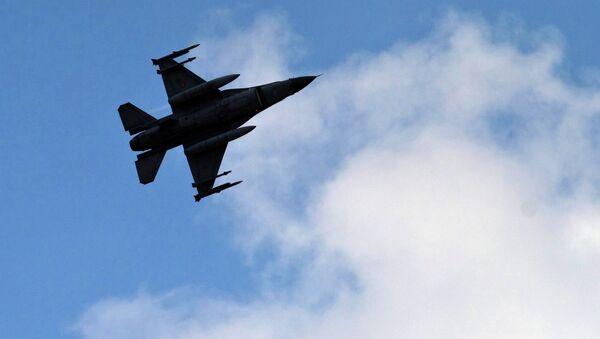 Caza de la Fuerza Aérea turca - Sputnik Mundo