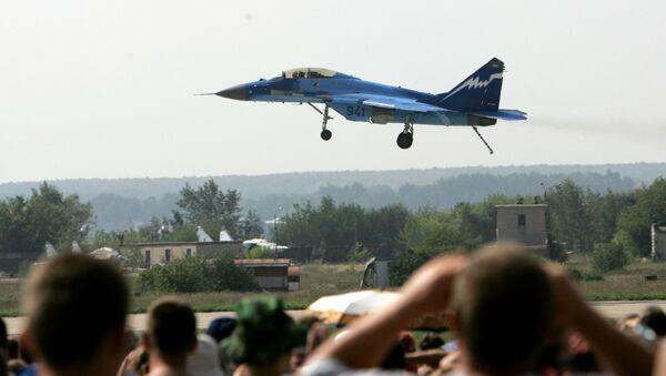 MIG-29K en el salón internacional aeroespacial MAKS-2007 - Sputnik Mundo