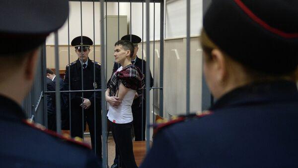 La piloto ucraniana Nadezhda Sávchenko - Sputnik Mundo