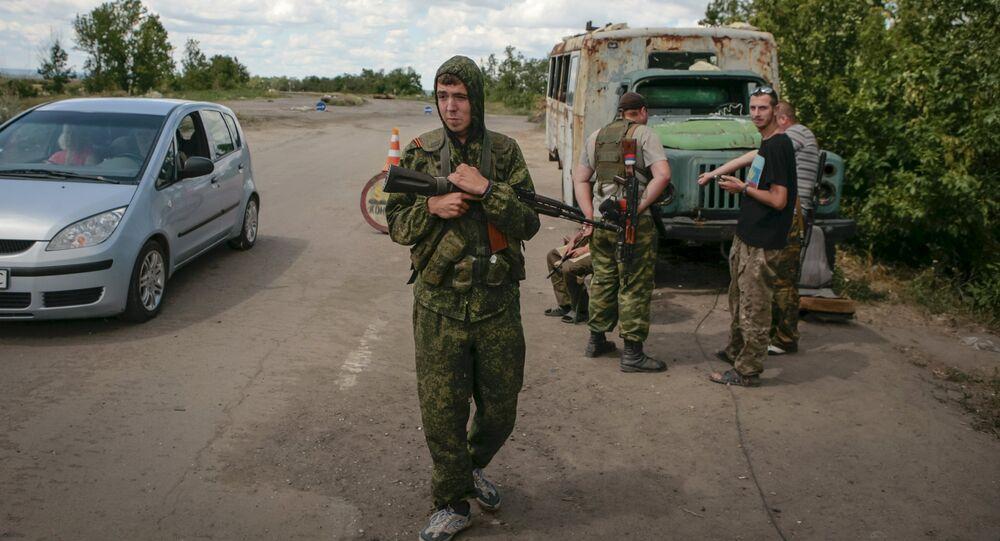 Milicias de la República Popular de Lugansk (archivo)