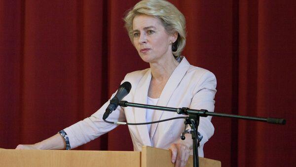 German defense minister Ursula von der Leyen - Sputnik Mundo