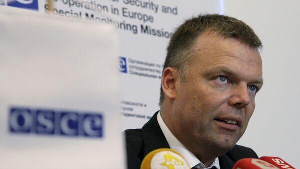 El subjefe de la Misión Especial de Monitoreo de la organización, Alexander Hug - Sputnik Mundo