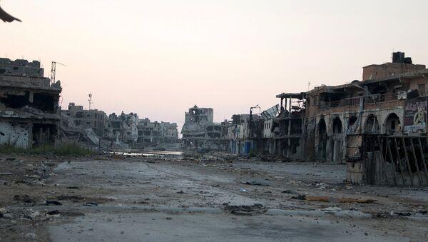 Situación en Bengasi - Sputnik Mundo