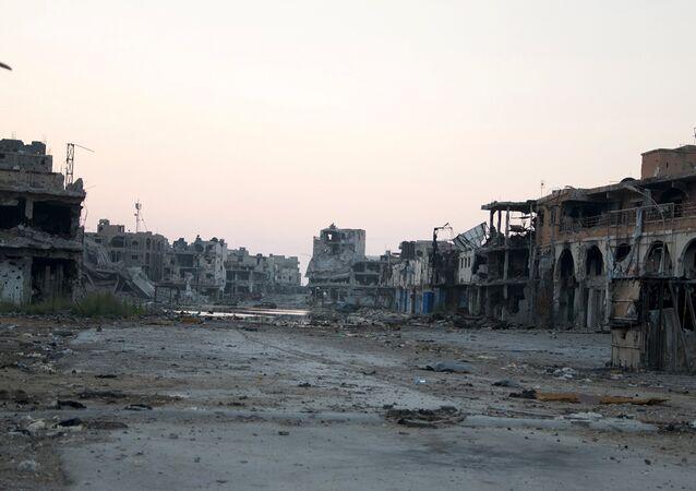 Situación en Bengasi