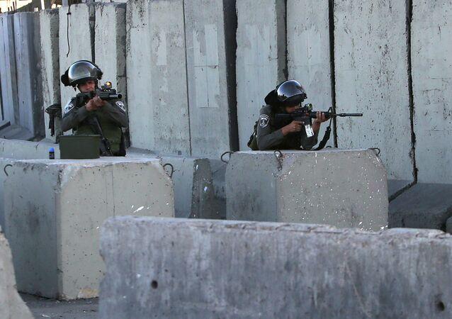 Soldados de las Fuerzas de Defensa de Israel