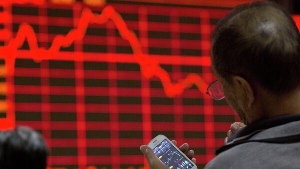 Bolsa en China - Sputnik Mundo