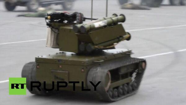 Robot militar de control remoto - Sputnik Mundo