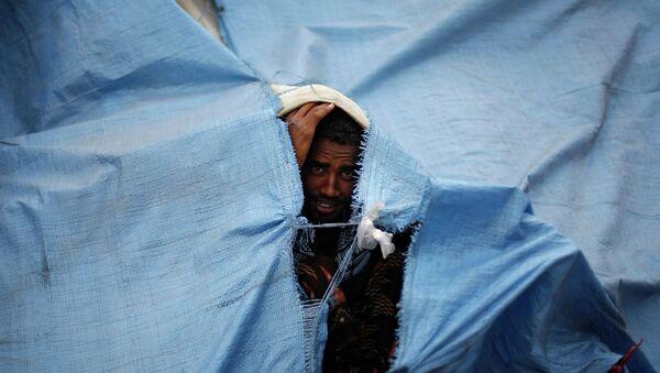 Refugiado eritreo en Yemén - Sputnik Mundo