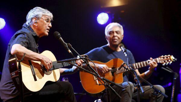 Caetano Veloso y Gilberto Gil, cantantes brasileños - Sputnik Mundo