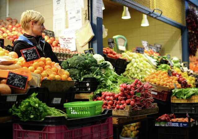 Mercado central de Budapest, Hungría