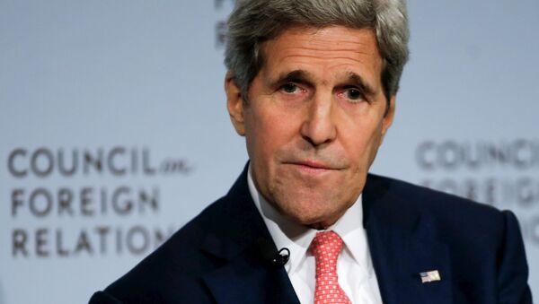 John Kerry, secretario de Estado de EEUU, en Nueva York, el 24 de julio, 2015 - Sputnik Mundo