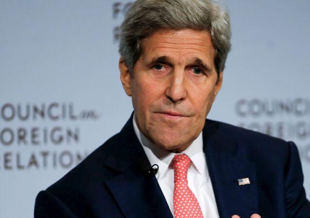 John Kerry, secretario de Estado de EEUU, en Nueva York, el 24 de julio, 2015