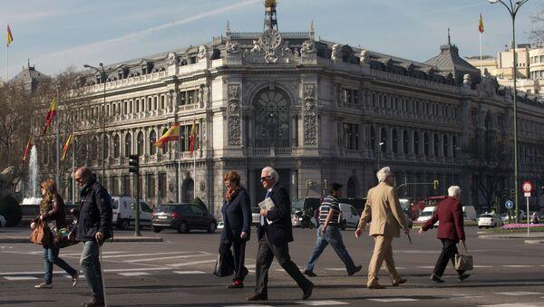 Banco Central de España en Madrid - Sputnik Mundo