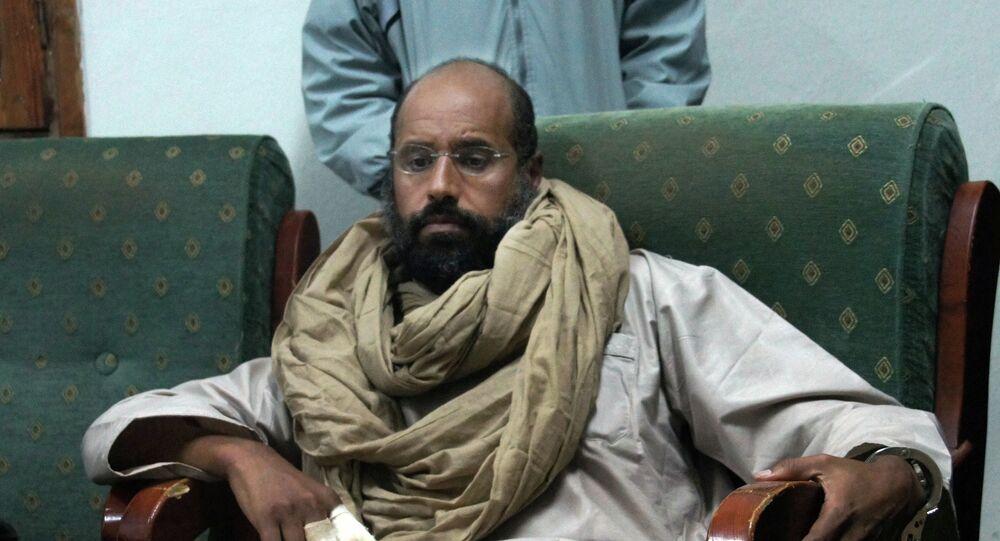 Seif Islam Gadafi (archivo)