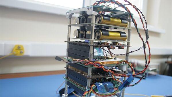 El nanosatélite SamSat-218 - Sputnik Mundo