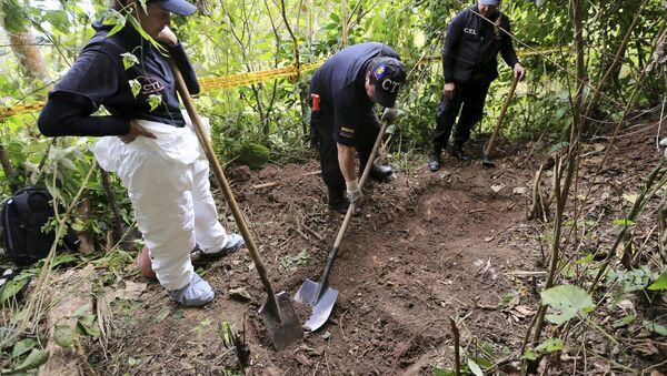 Búsqueda de desaparecidos puede restaurar confianza en Estado colombiano - Sputnik Mundo