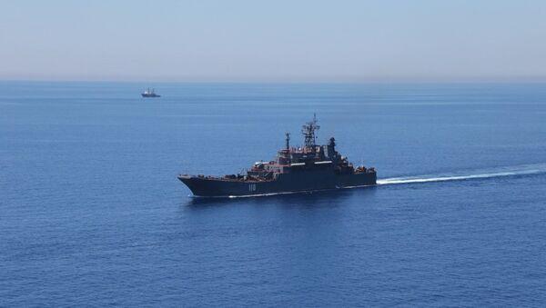 Maniobras en el Mediterraneo (Archivo) - Sputnik Mundo
