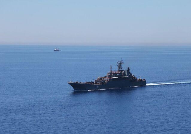 Maniobras en el Mediterraneo (Archivo)