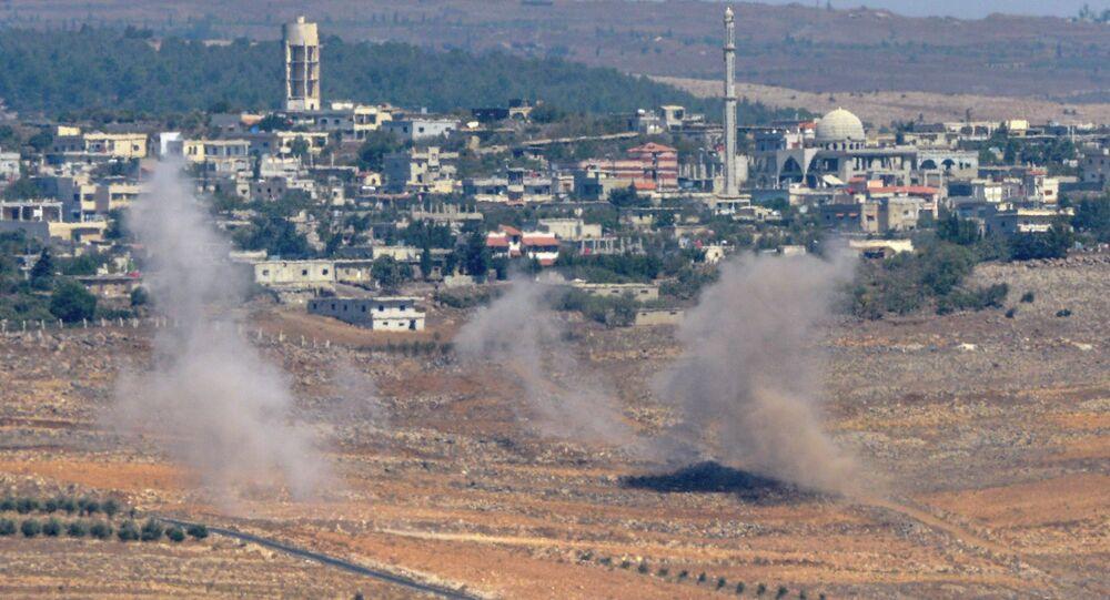 Explosiones en Altos de Golán (archivo)