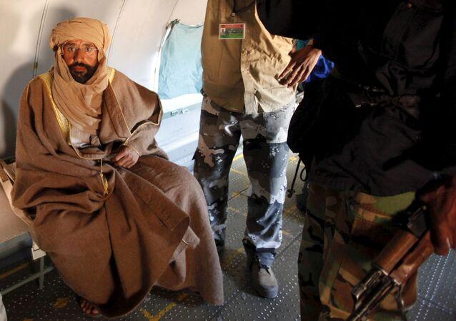Seif al-Islam, hijo de exlíder libio muamar Gadafi