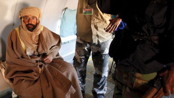 Saif Islam Gadafi, hijo de Muamar Gadafi (archivo) - Sputnik Mundo