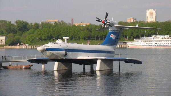 Ekranoplano Orlionok (archivo) - Sputnik Mundo