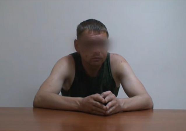 Vladímir Starkov, supuesto militar ruso detenido en Ucrania