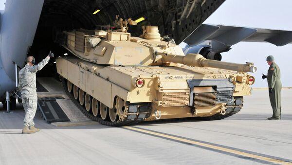Carro de combate Abrams - Sputnik Mundo