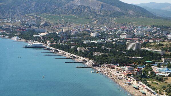 Costa de la ciudad de Sudak en Crimea - Sputnik Mundo